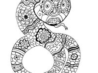 quirkles coloring pages for adults - photo#36