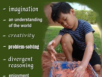 Reggio inspired learning environments provide the educator with the supports envisioned by Malaguzzi.