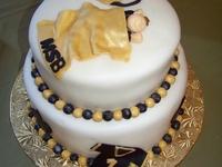 saints cake designs