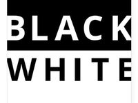 BLACK WHITE / Collection of Cool, Sophisticated and Trendy Products Created with a classic Black & White logo.