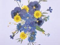 Dried flowers & leaves artwork
