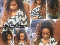 ... crochet hairstyles on Pinterest Protective styles, MMA and Crochet