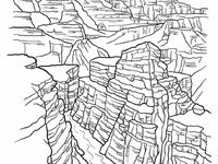 grand canyon coloring pages - photo#28