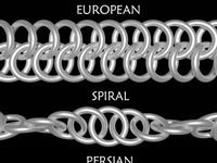 chain mail jewelry and body adornment
