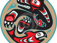 Image Result For First Nations Painting Of Shark Pacific Northwest Art Native Art Art Of Man