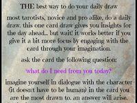 Tarot Reading - tips and tricks  Board