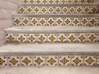 25 Best Spanish Tiles Images On Pinterest Mexican Garden Haciendas And Patio Design