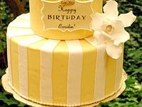 Yellow birthday cake on Pinterest | Yellow birthday cakes, Yellow ...