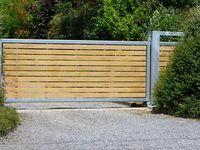 Portail Coulissant Bricoman Portail Bois Metal Carlier Construction Portail Bois Portail Coulissant Portail