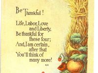 Vintage Illustrations ~ Thanksgiving