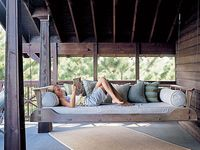 61 Best Images About Porch On Pinterest Diy Swing Patio