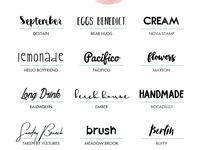 Schriftarten & Logos