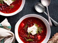 ... Soups on Pinterest | Borscht, French Onion Soups and Tomato Soups