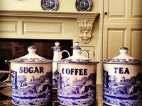 Blue and White Decor on Pinterest | White Quilts, Tea Sets and Homer ...