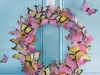Believe it or not, I actually do try all these craft ideas! Thank you Pinterest, for keeping my fingers busy! :)
