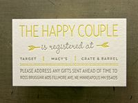 12 best images about Wedding registry wording ideas on Pinterest ...