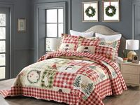 Overstock Com Online Shopping Bedding Furniture Electronics Jewelry Clothing More In 2021 Quilted Bedspreads Christmas Quilt Deer Quilt