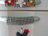 lindos panos de prato e decoração para a cozinha