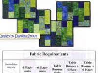 Table Runners - Patterns & Tutorials