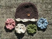 crochet baby/kids hats