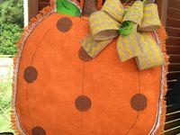 Crafts - Door Hangers Muslin, Burlap...