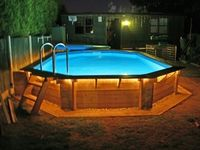 150 best beautiful above ground pools images ground - Beautiful above ground pools ...