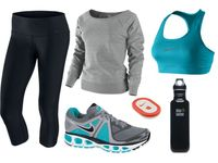 Work out clothes & things=FIT