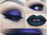 maquillaje: rostro y uñas.  / imágenes de variedad de maquillaje.