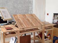 DIY Paletten bzw. Holz Büromöbel & Accessoires
