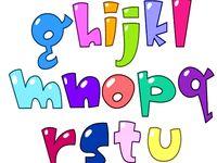 M s de 1000 im genes sobre letras en pinterest alfabeto - Literas divertidas para ninos ...