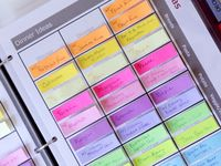 Organizing - Ideas for Planners/Binders