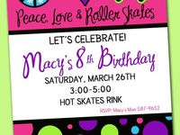 """""""All Skate"""" Party"""