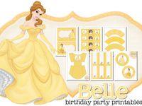 Avery's Belle birthday