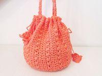 ♡ Crochet Drawstring Bags ♡