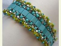 aB-did Bracelets with Tila, Brick & Rulla Beads