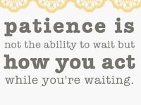challenges practicing patience when god has you waiting