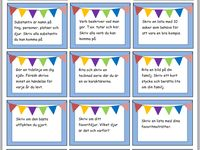 pedagogiska kort