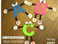 Letters crafts ideas ABC