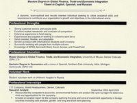 Undergraduate resume tips