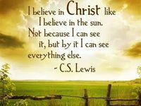 My Faith (I am Christian)