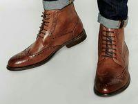 Les 7 meilleures images de bottines cuir et chaussures de