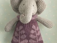 knitted dolls etc