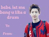 exo valentine card tumblr