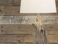 ... slaapkamer idee on Pinterest  Lamps, Tractor bed and Driftwood lamp