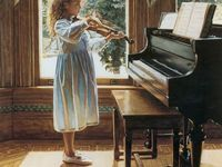 Piano and music related