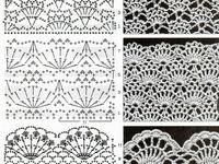 Ponto de crochet gráfico