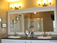 mirror ideas on pinterest diy bathroom mirrors mirror makeover and