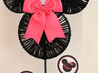 Kinley's Minnie Mouse 2nd birthday 2014