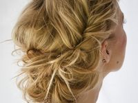 As I specialise in the bridal/beauty industry, I thought it might be a nice to help my clients with some decision making by posting hair style ideas. Ladies...I hope this helps you. I look forward to working with you!