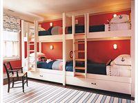 DIY *Built-ins and Bunk-beds